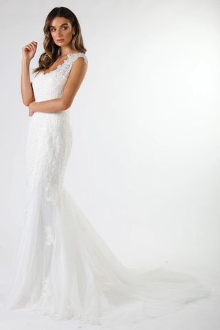 Florencia Wedding Gown - White