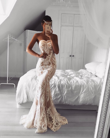 how to find the best wedding dress which suits your body type