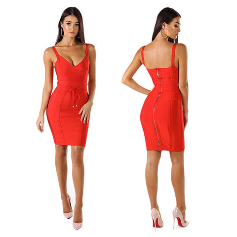 Embrace Your Curves in Glamorous Bandage Dresses  4606feb8a