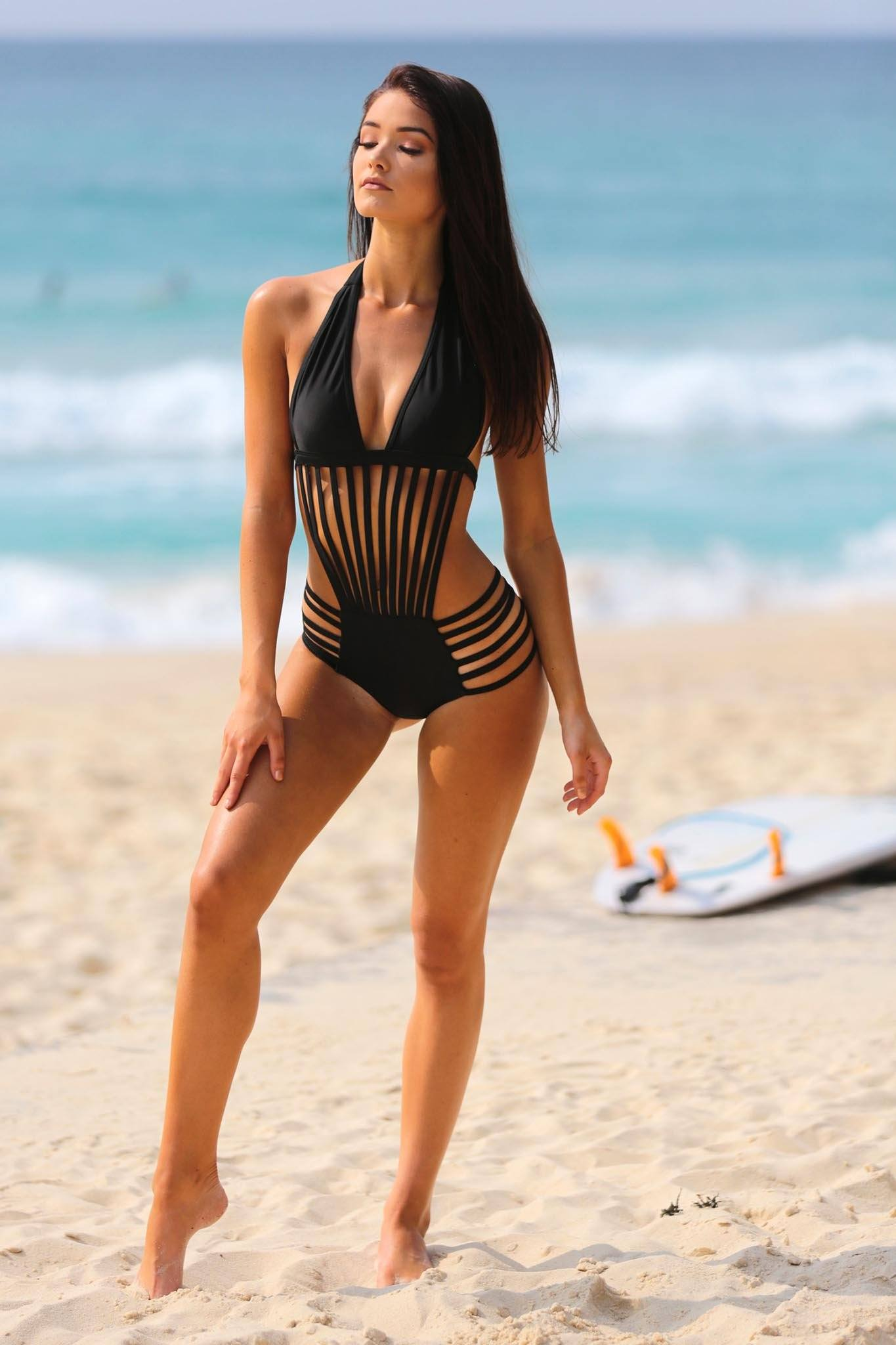 Mykonos One Piece Swimsuit - Black