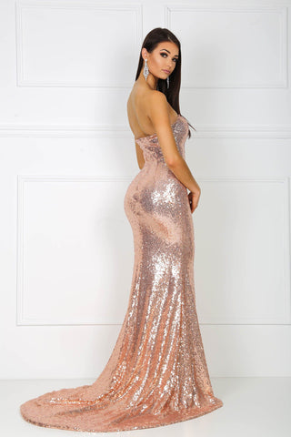 Angelisa Gown - Rose Gold