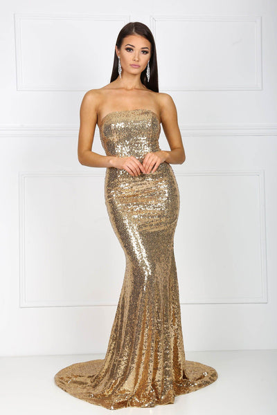 Angelisa Gown - Gold