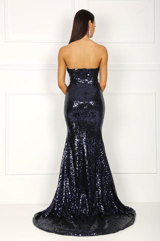 Angelisa Gown - Navy