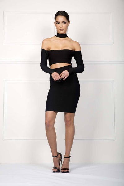 Micah Dress - Black