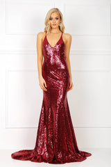Estelle Gown - Wine