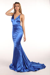 AMATA Gown - Royal Blue (Size XS - Clearance Sale)