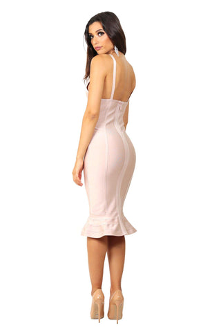 ANA Dress - Nude (Size S - Clearance Sale)