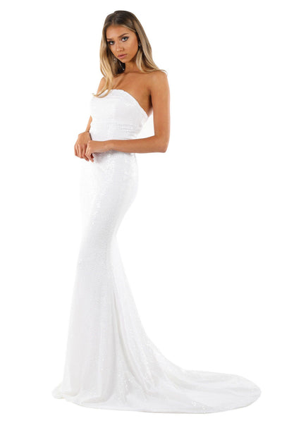 Angelisa Gown - White