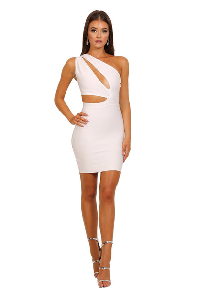 Adriana Dress in White
