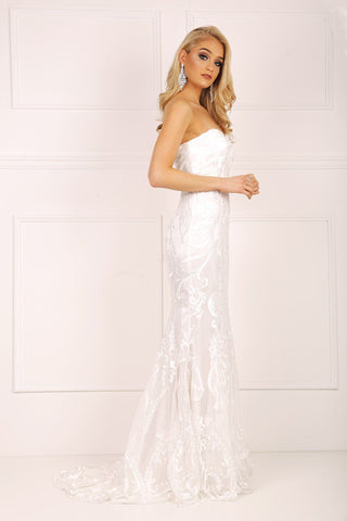 Alessandra Gown - Ivory