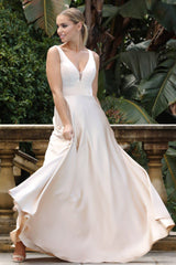 BA269 Ball Gown - Champagne (Size XS - Clearance Sale)