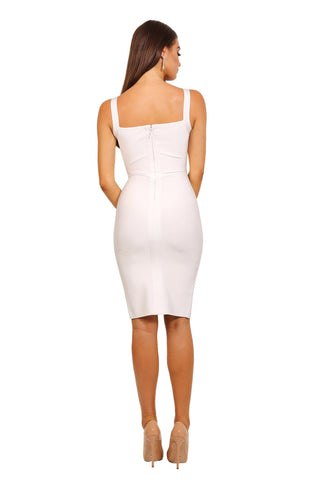 Angeline Dress in White