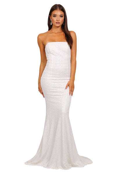 Angelisa Gown - White (without train)