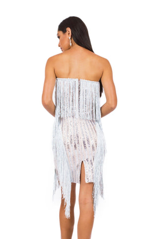 Anya Fringe Dress