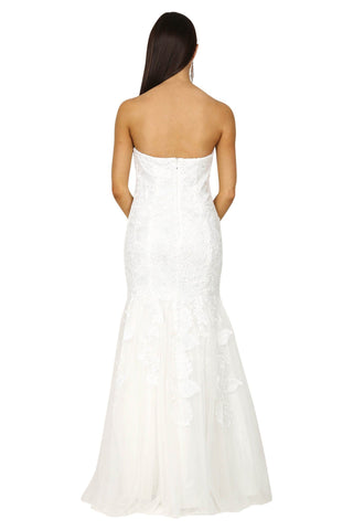 Arabella Wedding Gown - White (Size S - Clearance Sale)