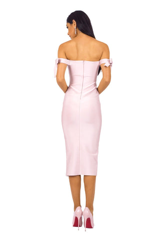Blair Dress - Blush Pink