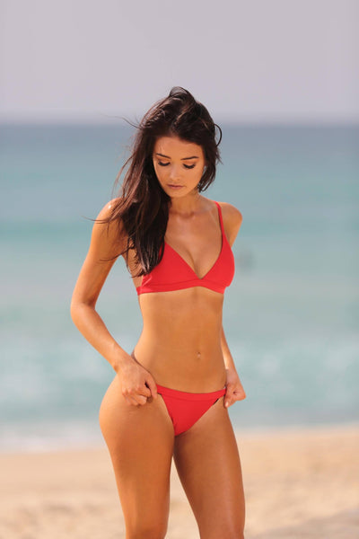 Bondi Bikini Set - Red