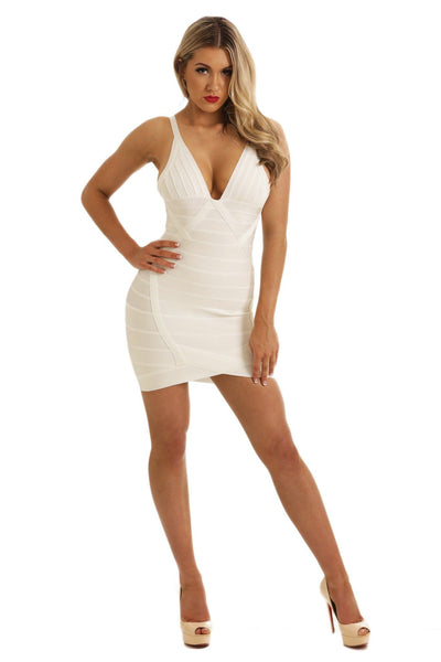 Britney Dress in White