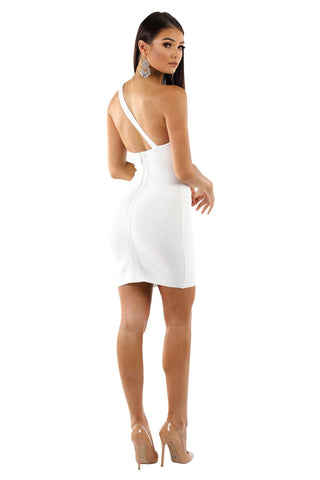 Cara Dress in White