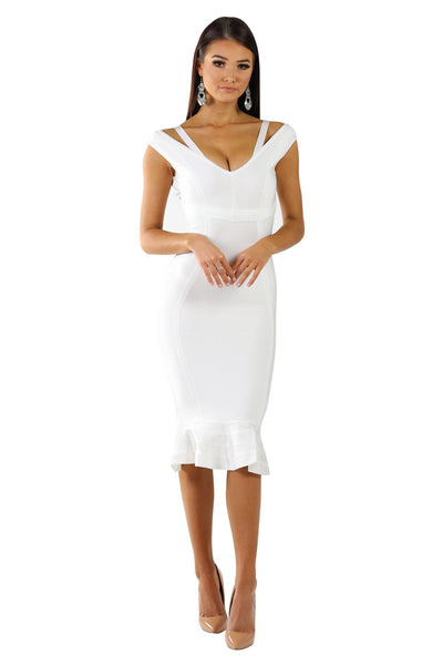 Celine Dress - White