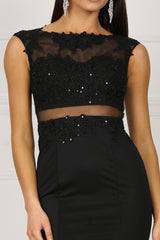 Camila Dress - Black (Size XXL - Clearance Sale)