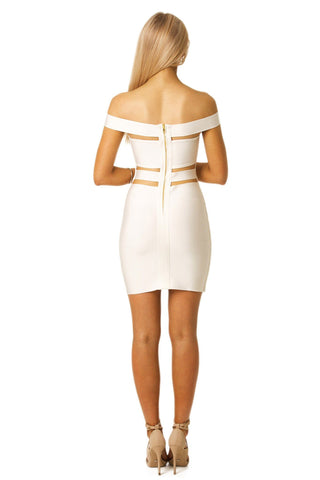 Cassie Dress in White