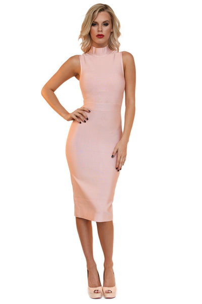 Chantal Dress - Blush Pink