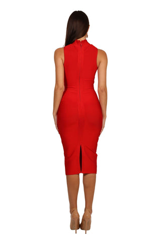 Chantal Dress - Red