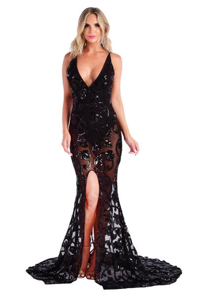 Charlize Gown - Black