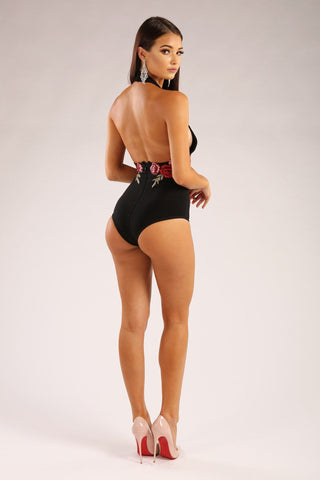 Coco Swimsuit/Bodysuit - Black