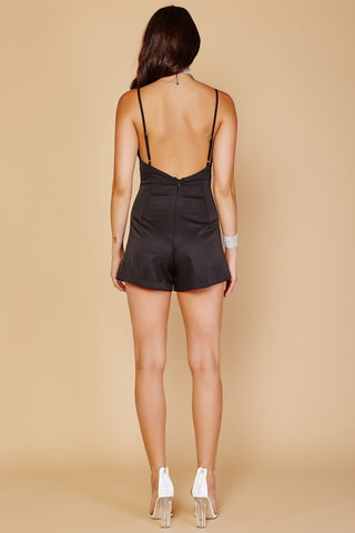 Cosmos Playsuit - Black