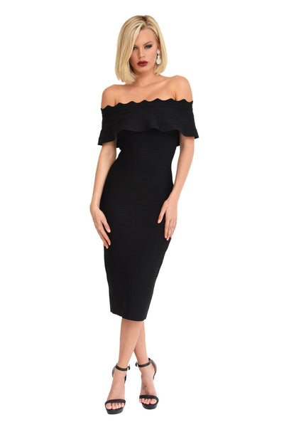 Danica Dress in Black