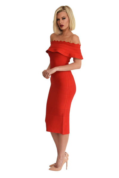 Danica Dress in Red