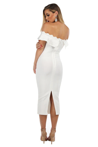 Danica Dress in White