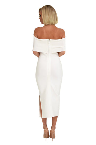 Diana Dress in White