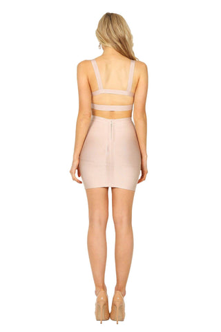 Eliza Two-Piece Set - Nude