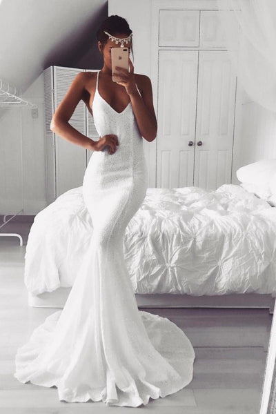Estelle Gown - White