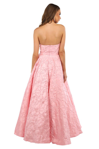 Gloria Strapless Ball Gown - Light Pink (Size S - Clearance Sale)