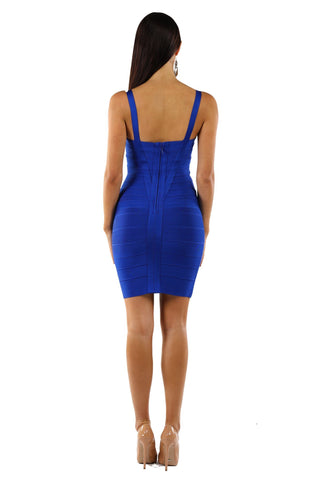Holly Dress - Royal Blue
