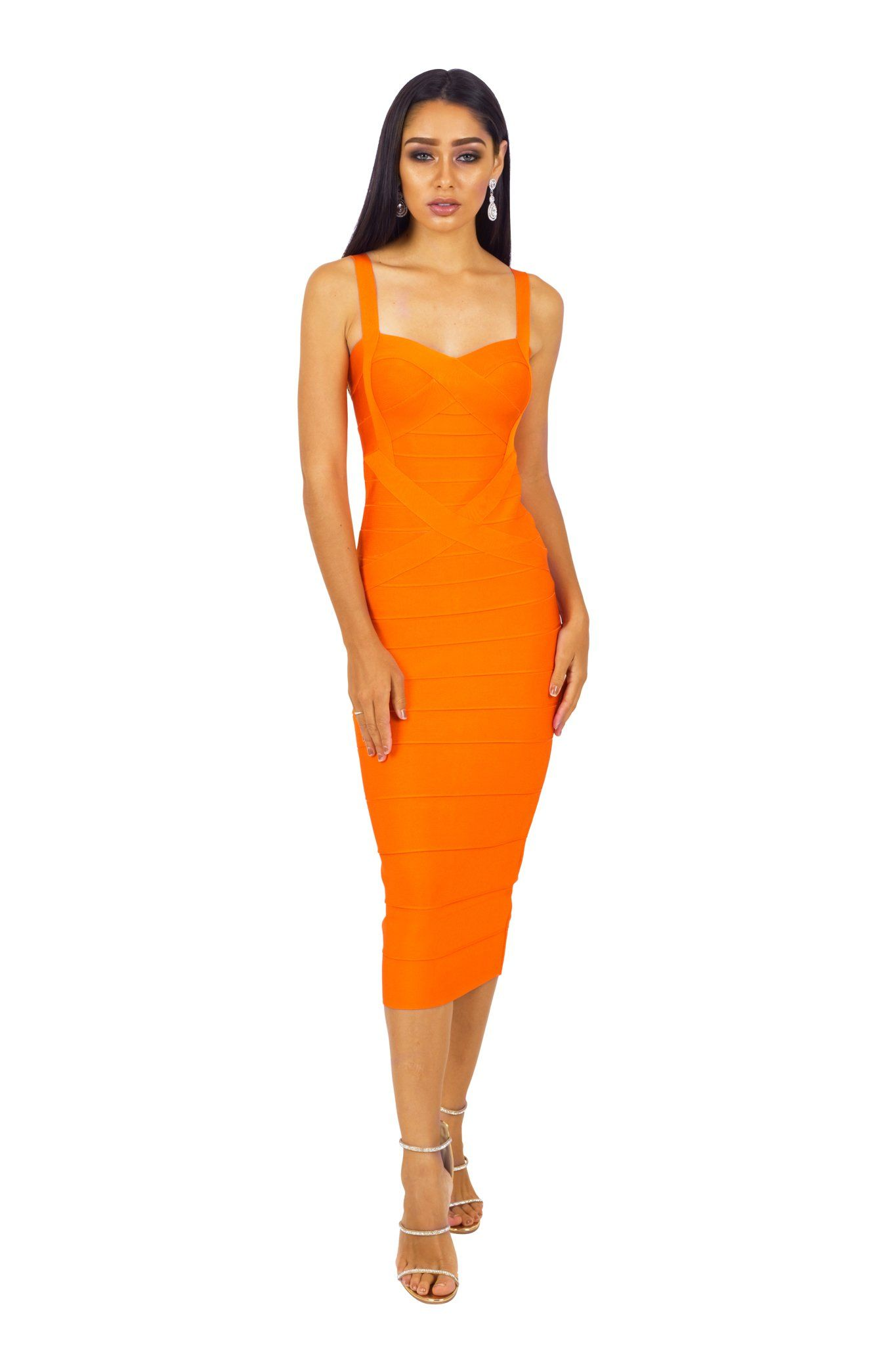 Hannah dress orange noodz boutique - Boutique orange beauvais ...