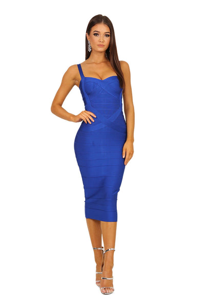 Hannah Dress - Royal Blue