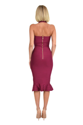 Helen Dress in Berry