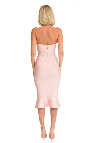 Helen Dress in Blush