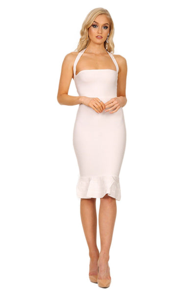 Helen Dress in White