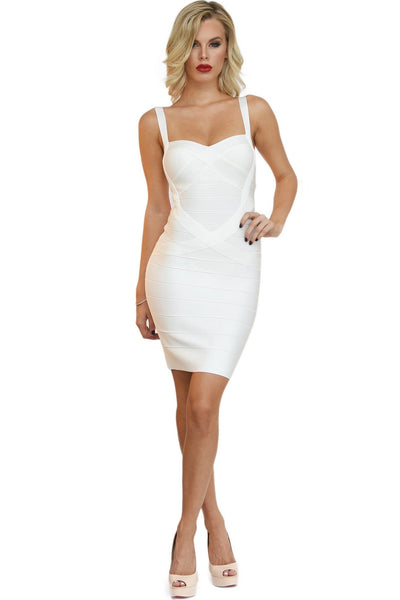 Holly Dress - White