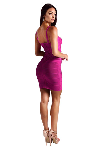 Holly Dress - Fuchsia