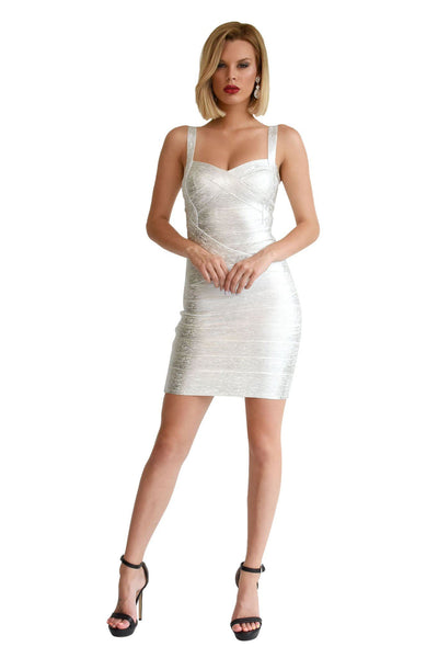 Holly Dress - Silver