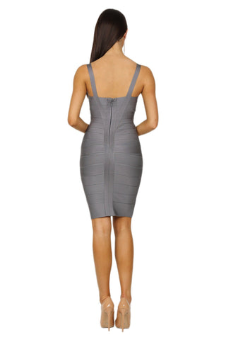 Holly Dress - Grey