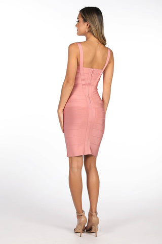 Holly Dress - Tea Rose
