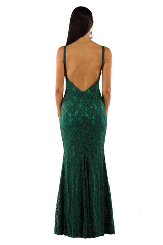 Ivana Lace Dress - Green